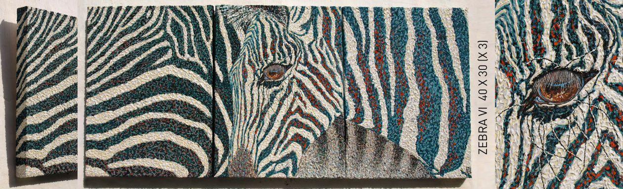 Zebra 6 (2019) - Pascale Deldicque