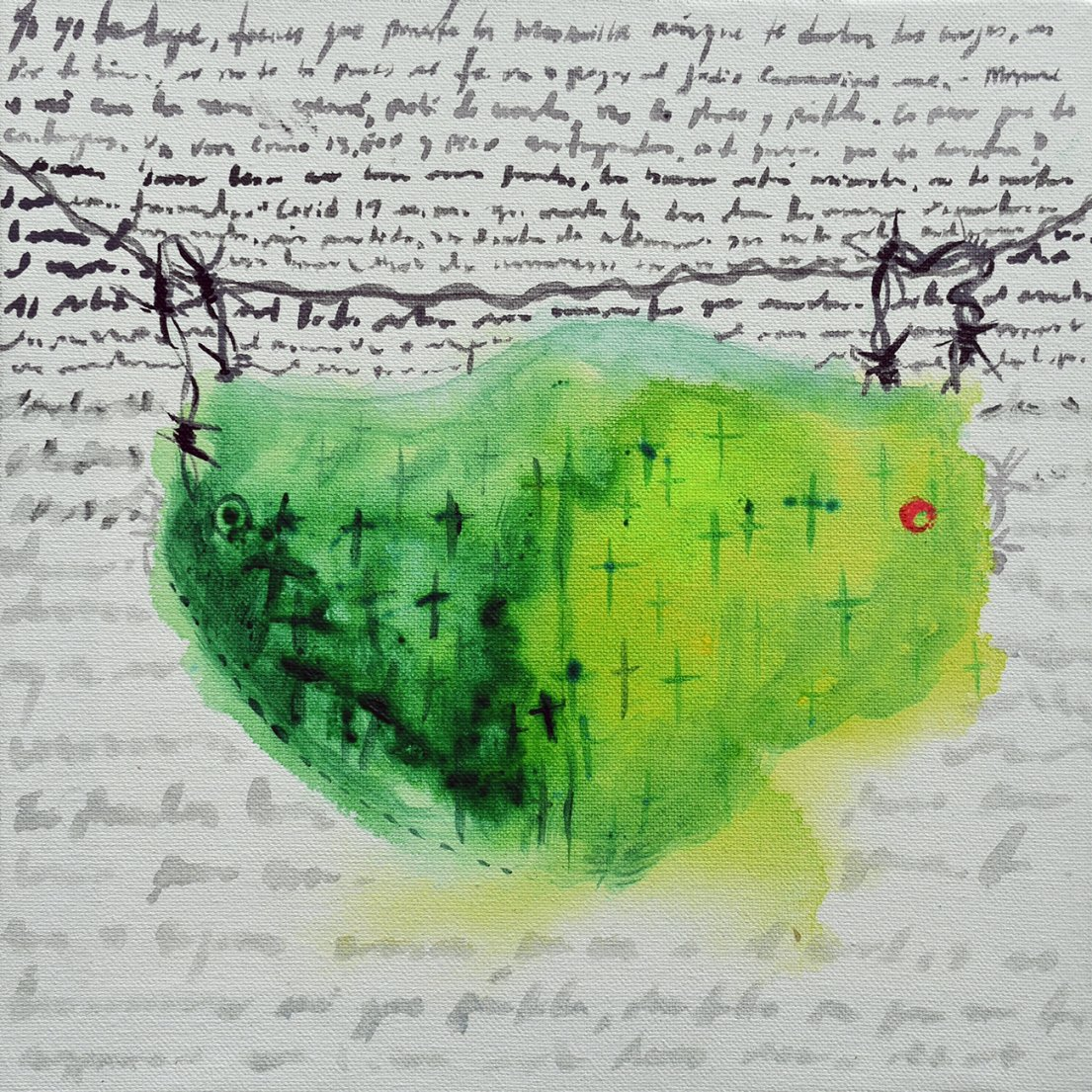 """Pandemia"" (2020) - Cristóbal Rodríguez"