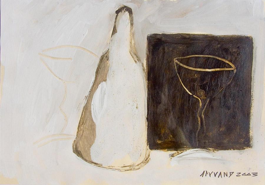 Botella con dos copas (2003) - Enrique Serrano Álamo