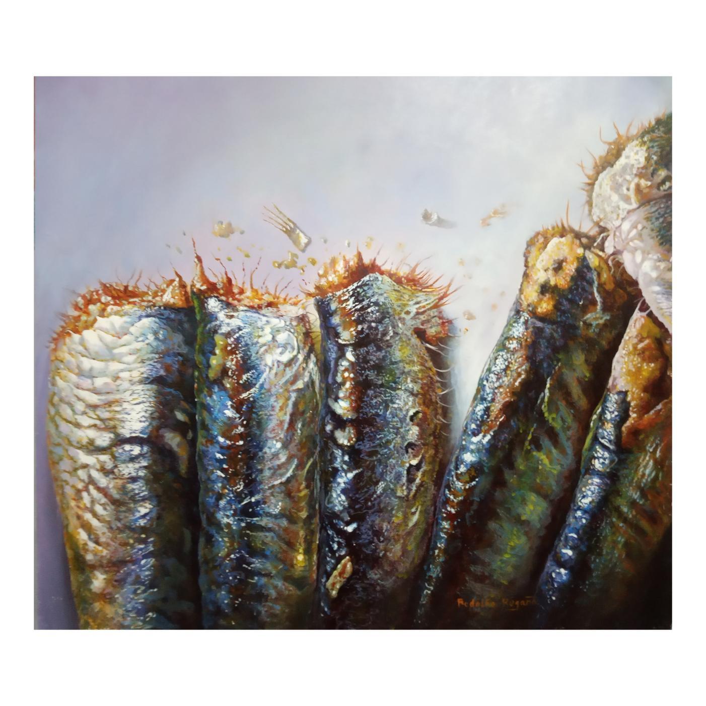Sardinas fritas (2020) - Rodolfo Rodríguez Regaño - Rodolfo Regaño