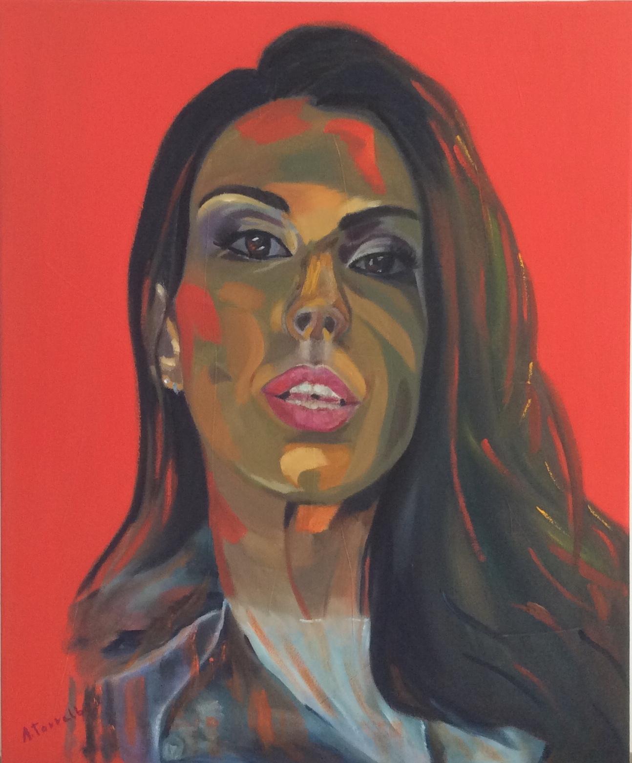 Retrato rojo I (2020) - Amaro Torralba Hernnadez - A.Torralba