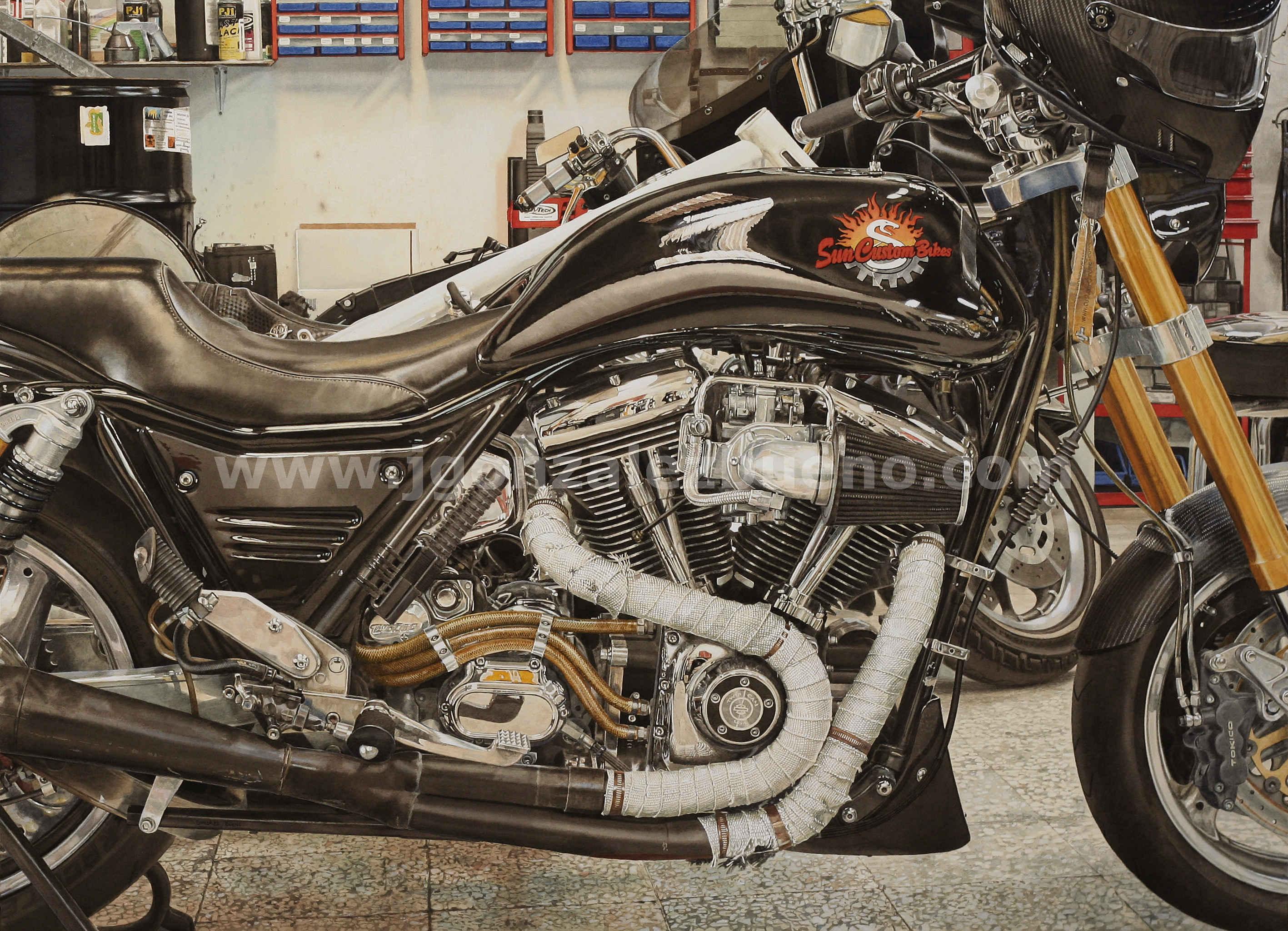 Harley Sun (2016) - José Gonzalez Bueno