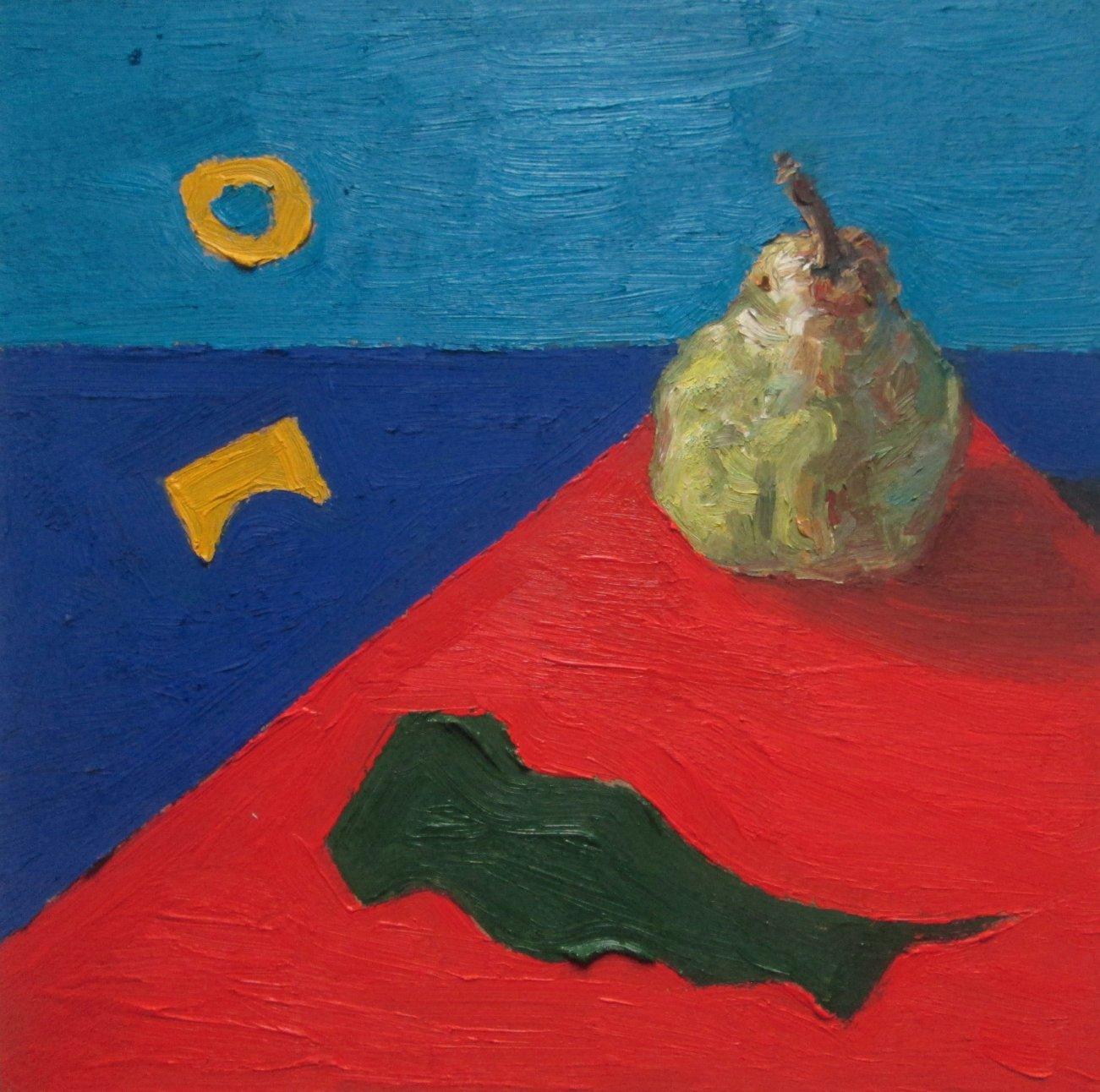 Composición con pera (2019) - Sebastián González - Sbastiangr