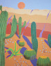 Landscape II, 116 x 90 cm.