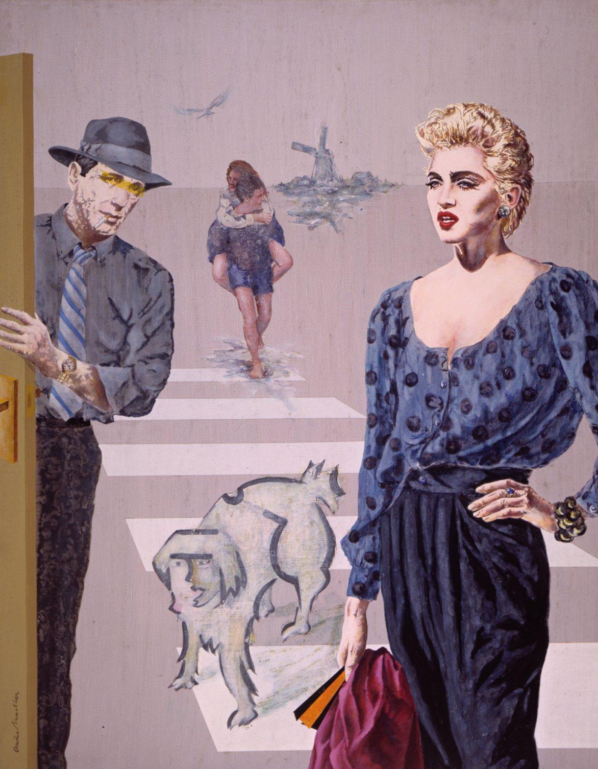 Madonna y Bogaryt (1986) - José Antonio Ocaña Martínez - ocañamartínez