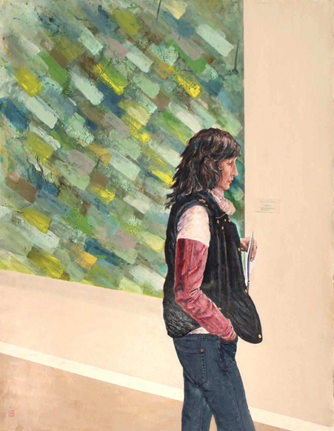 Elina en el museo (2014) - José Antonio Ocaña Martínez - ocañamartínez