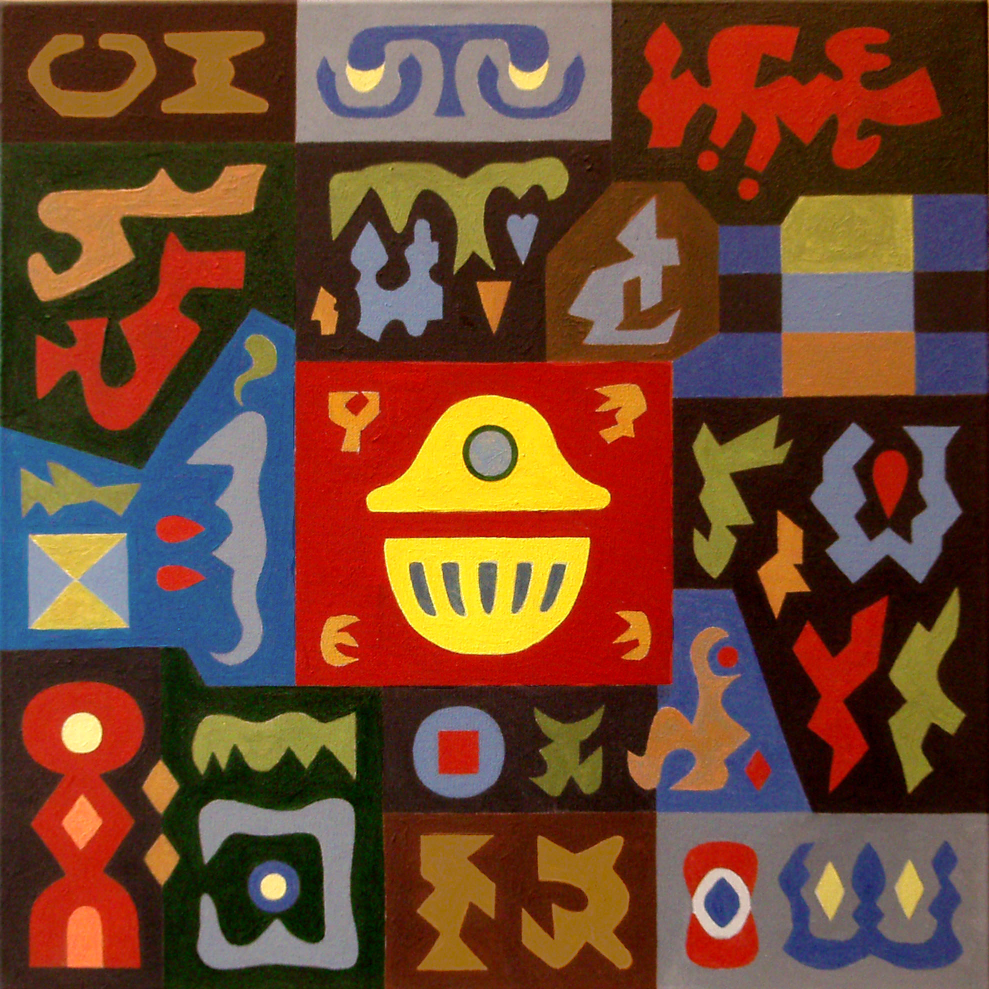 PUZLE COLORISTA (2010) - Ramiro Tapia