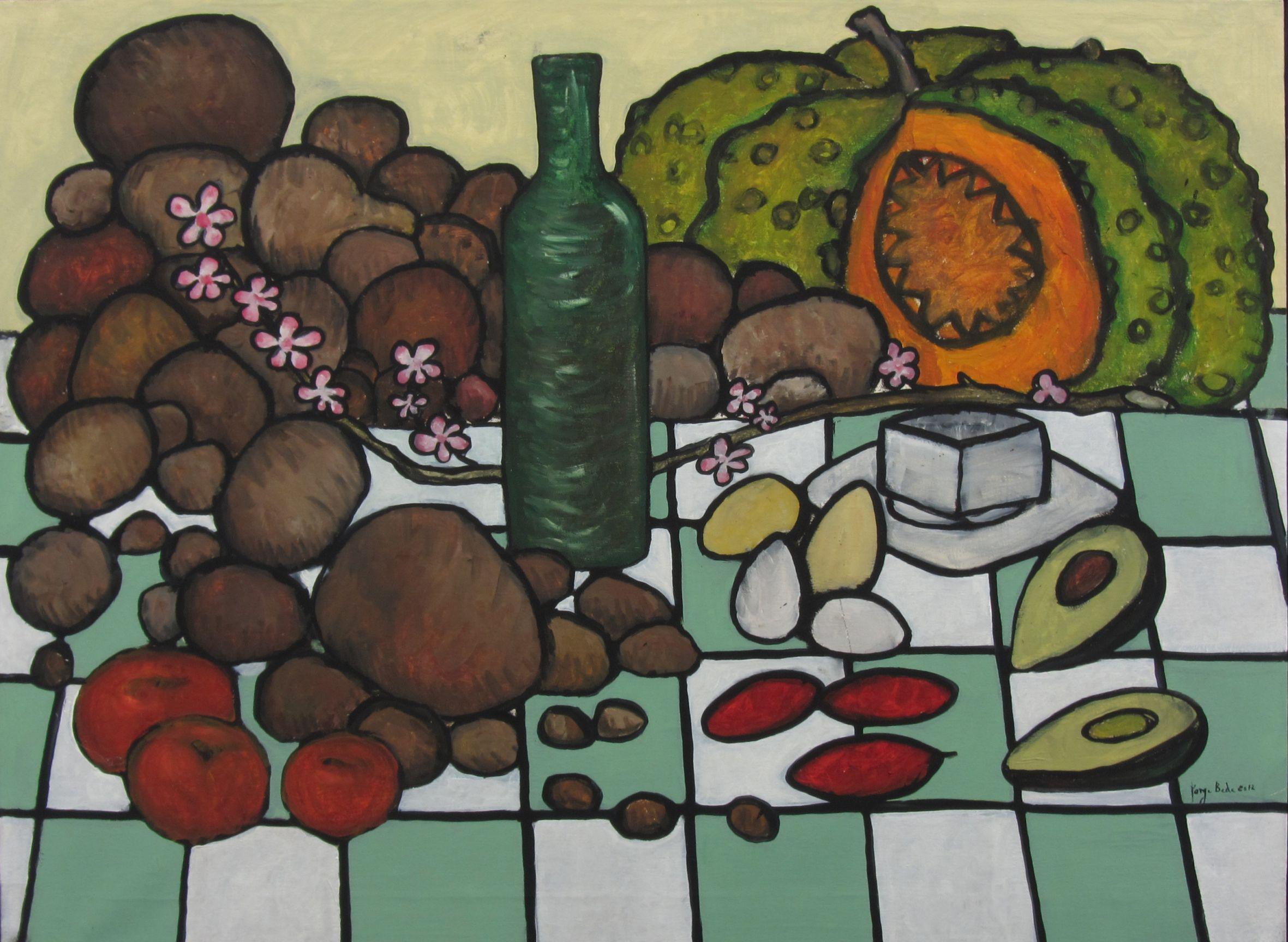 Bodegón con patatas (2011) - Jorge Beda
