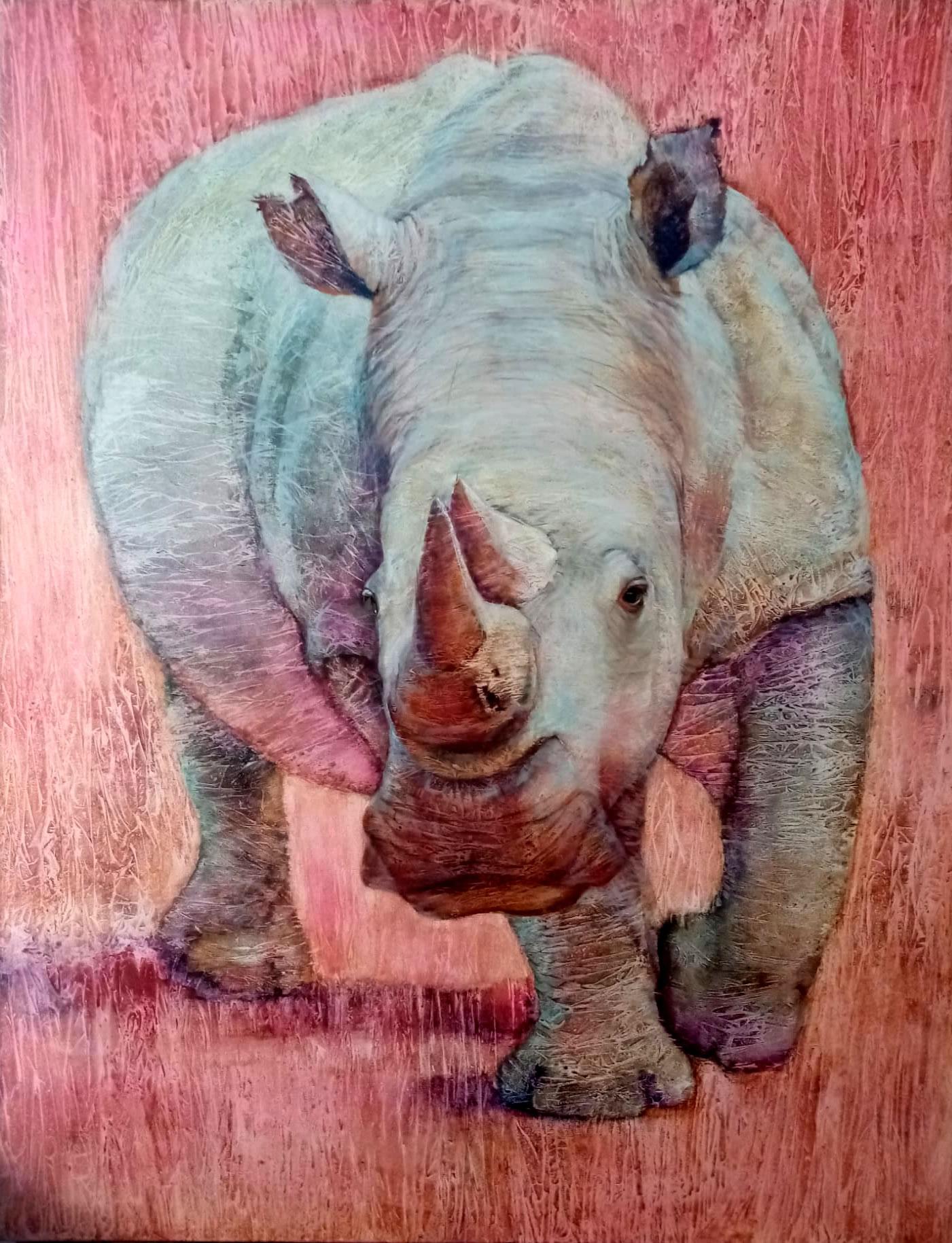 Rinoceronte blanco (2020) - Olga Ossintseva