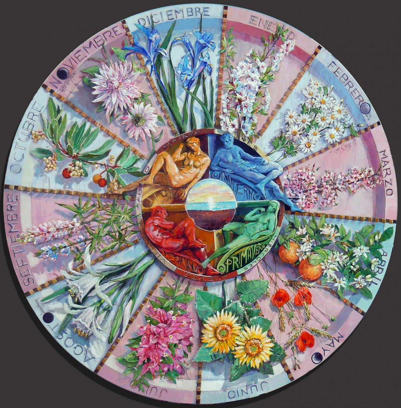 Calendario Floral (2014) - Juan Charro