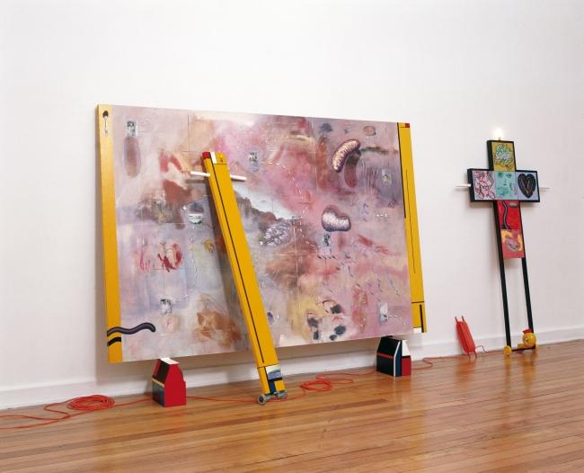 Territorios recuperados y Tonto como un pintor. MAC. 2003. Chile