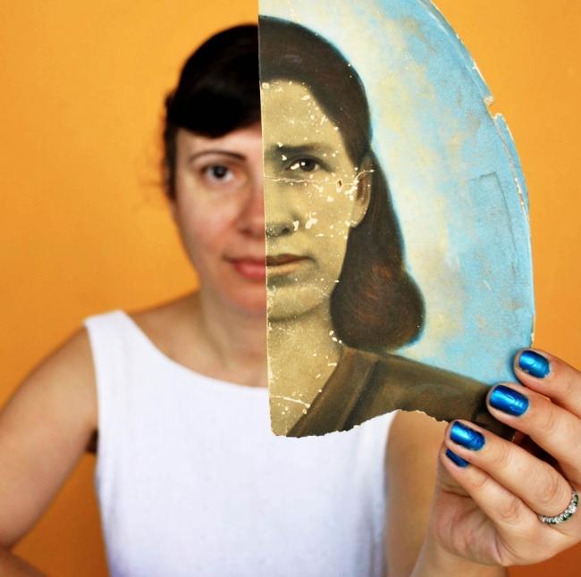 Fernanda Fotopintura   foto de Titus Riedl