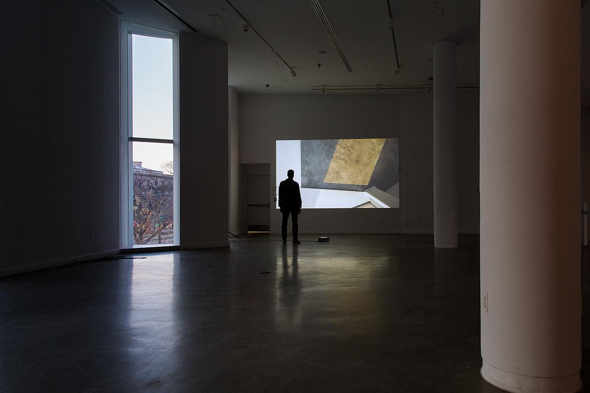 Sunlight entering the Bronx Museum on my 50th Birthday (2030) (2013) - Raúl Valverde