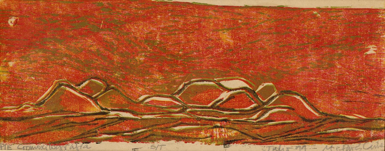 Montañas furiosas (1999) - María Pavés Carvajal