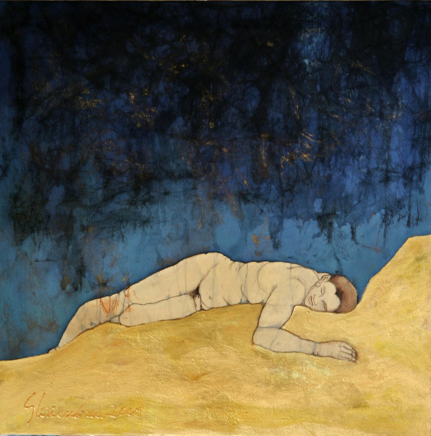 """Hombre en la noche"" (2006) - Gloriandrea Pérez"