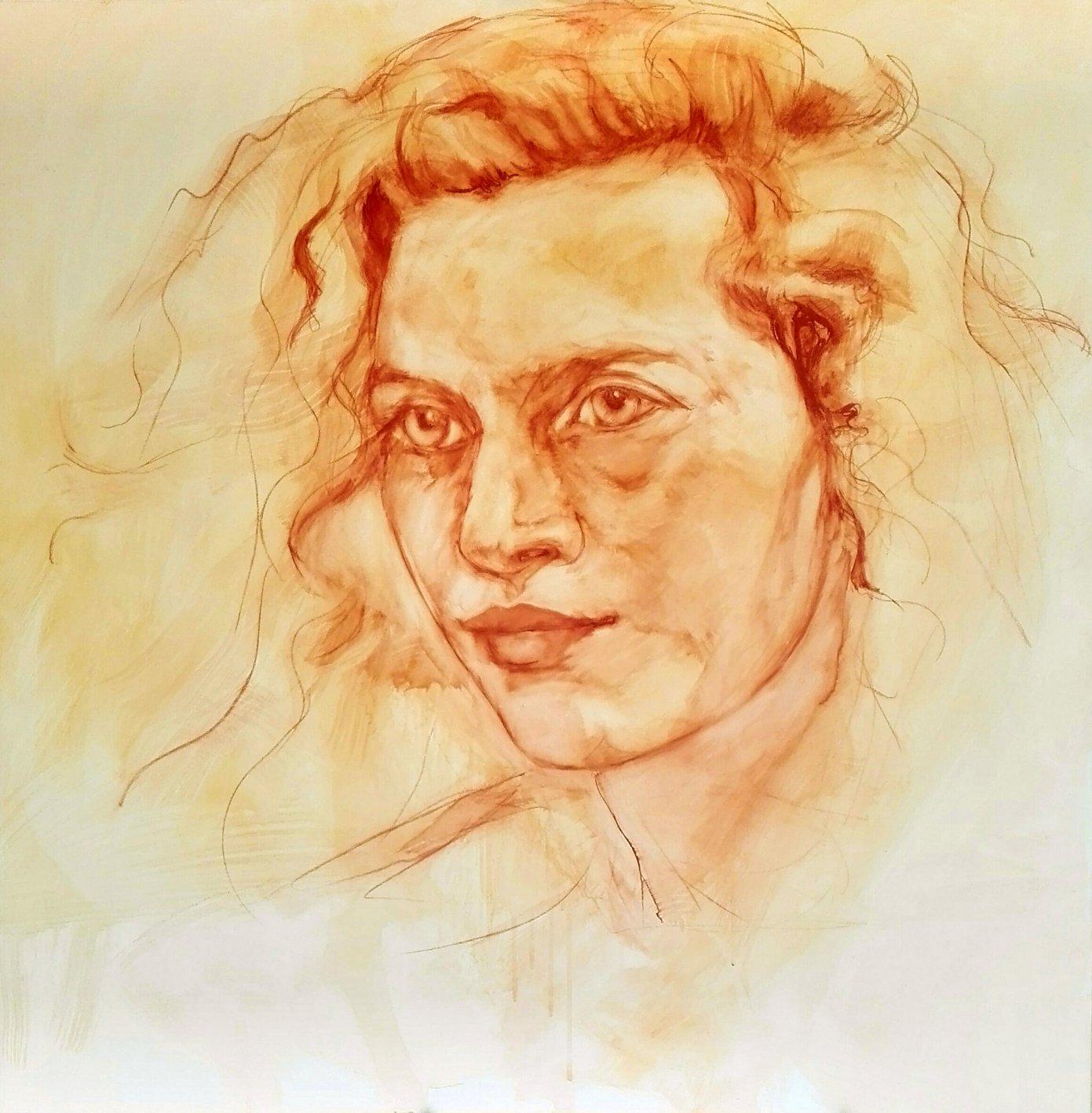 Retrato de Ahed Tamimi (2019) - Sofia G. Ruiz