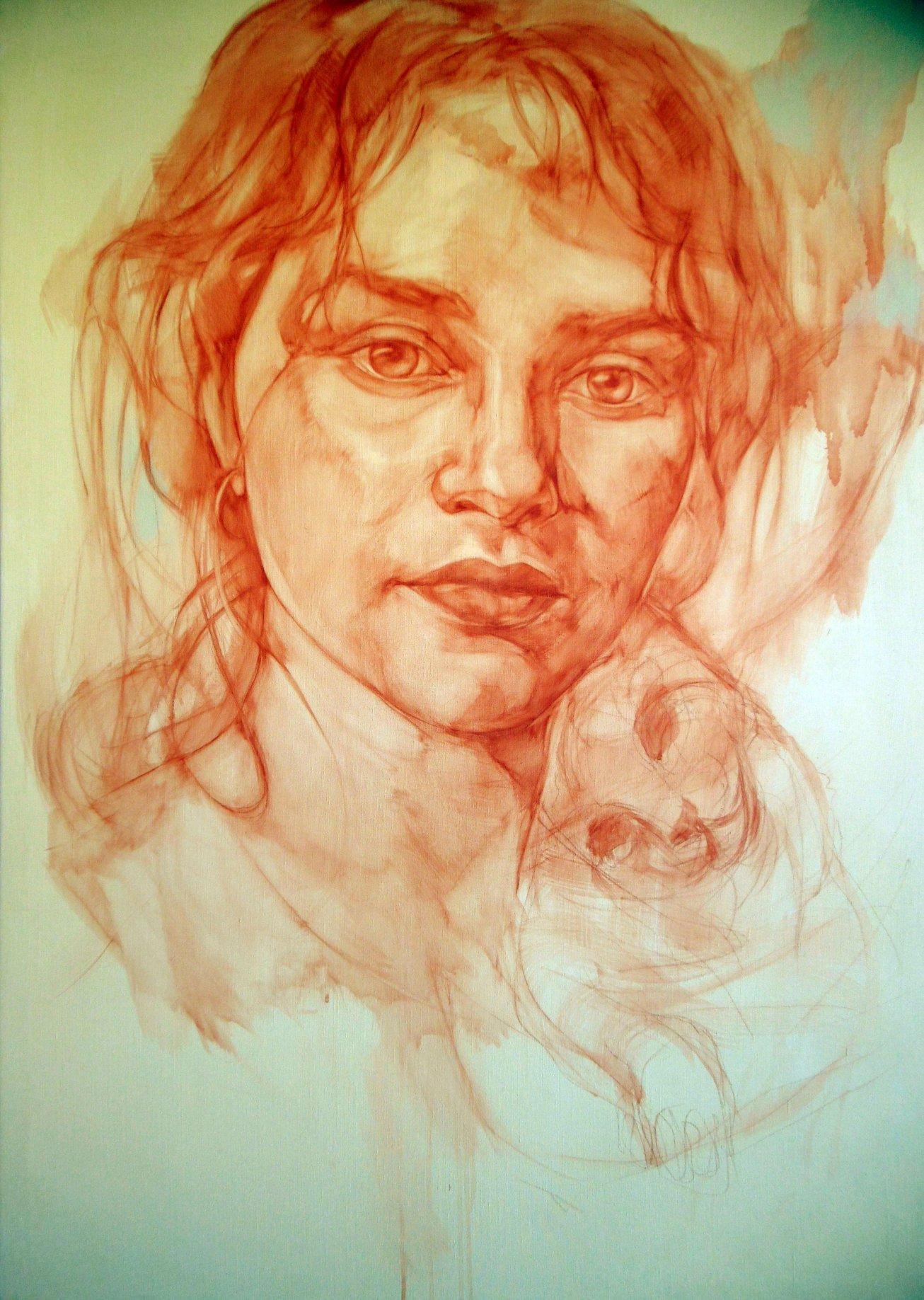 Retrato de Genia (2019) - Sofia G. Ruiz
