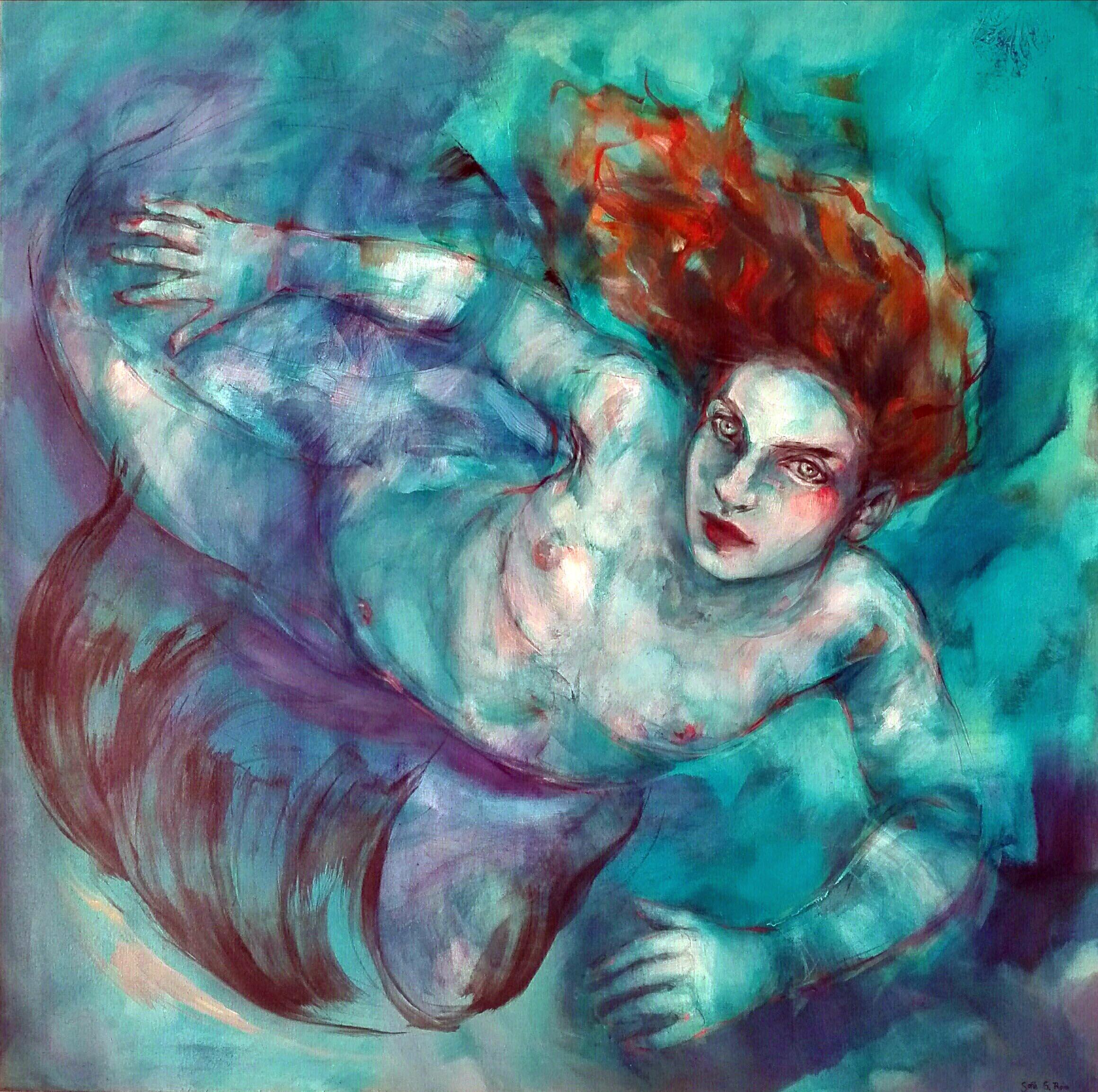 Sirena azul (2019) - Sofia G. Ruiz