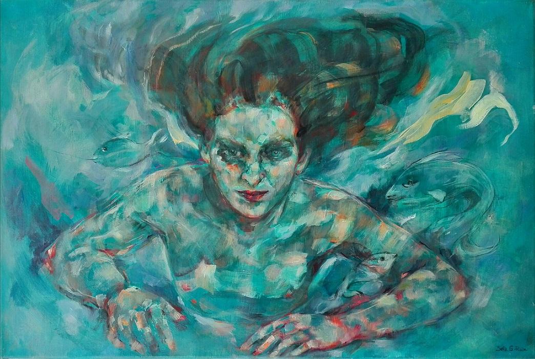 Sirena medusa (2019) - Sofia G. Ruiz