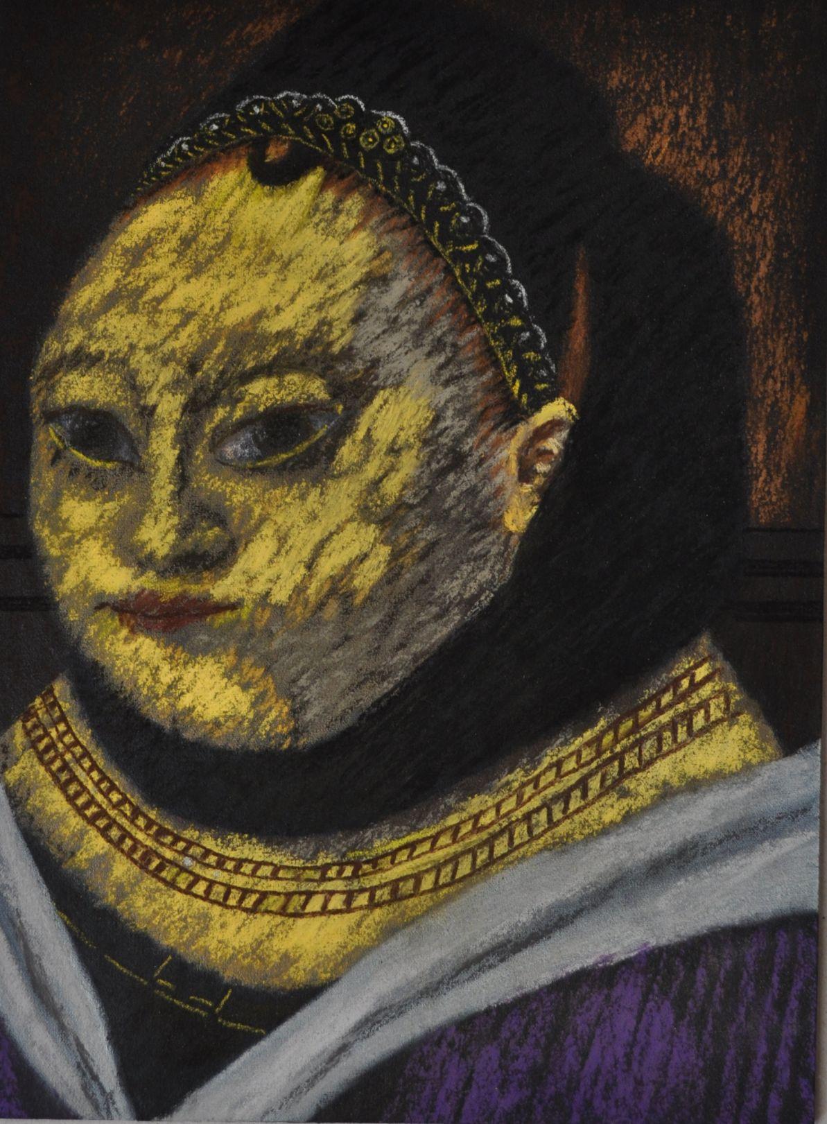 Retrato de una muchacha after Petrus Christus