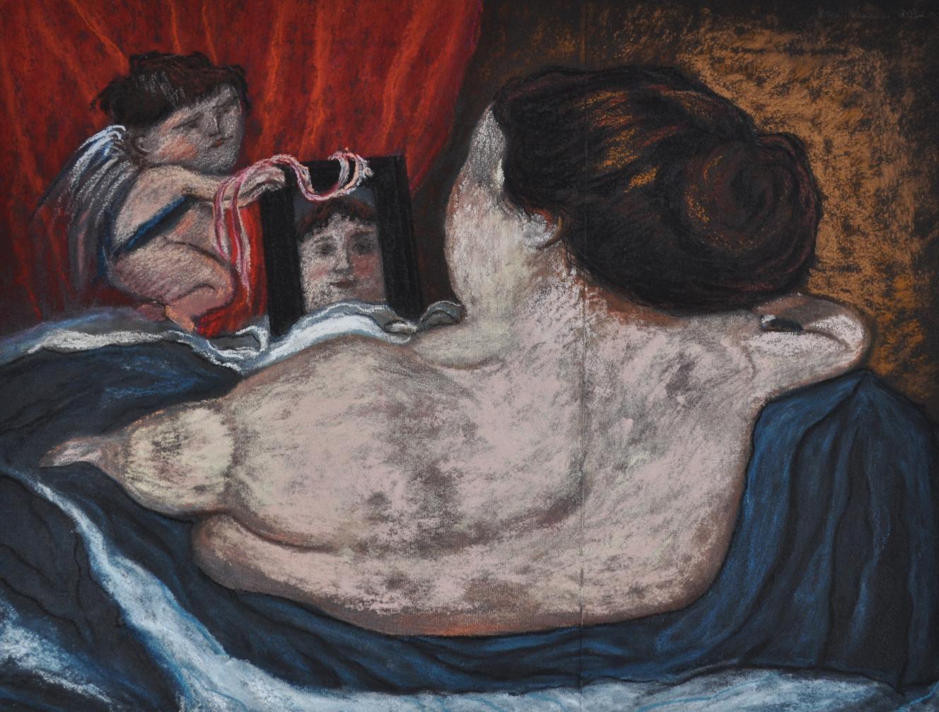 La Venus del espejo after Velázquez