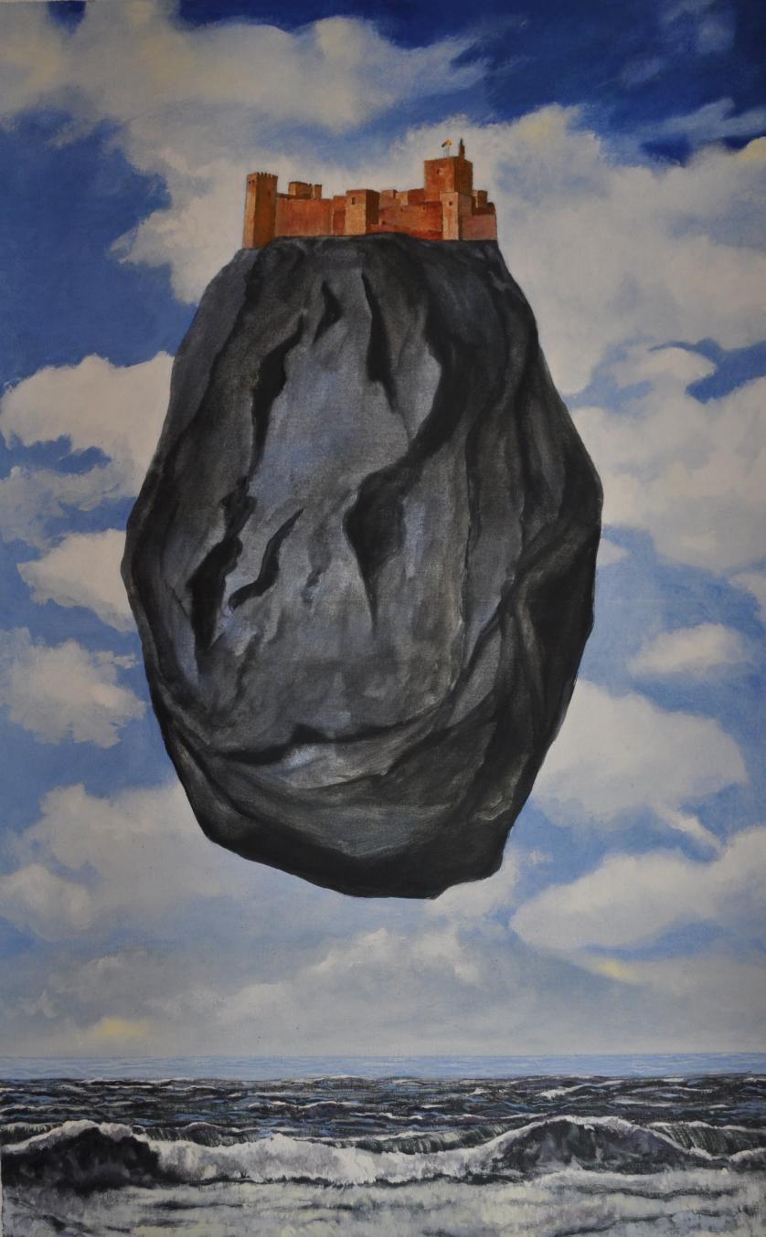 Magritte y yó.