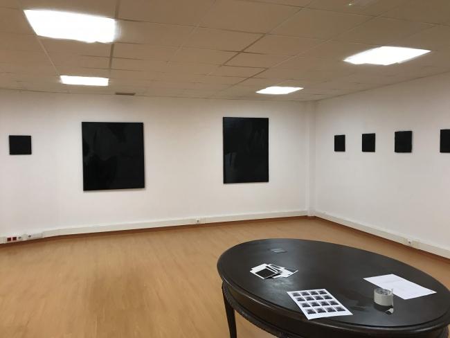 Beltza en Galería Musart