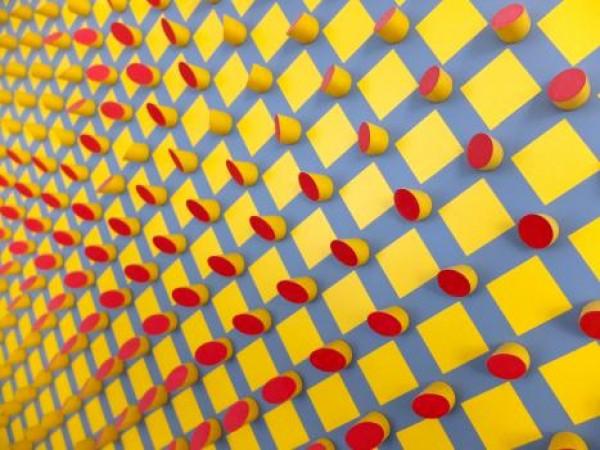 Detalle de 01 cinético amarillo 02. Cortesía Galería Wu