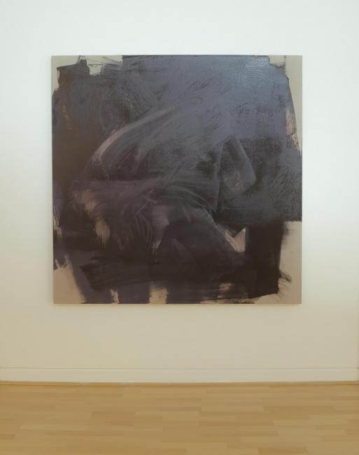 Mine, Oil on Canvas 150x150cms