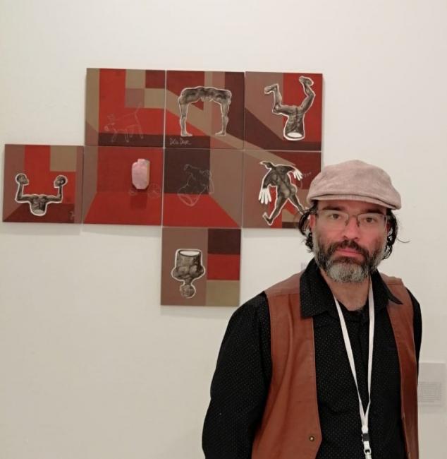 Javier Félix - Artista colombiano, nacido en Bogotá en 1976, vive y trabaja en España.