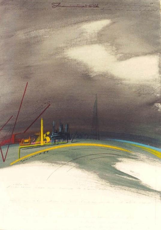 Sin título (1982) - Jaume Genovart Llopis