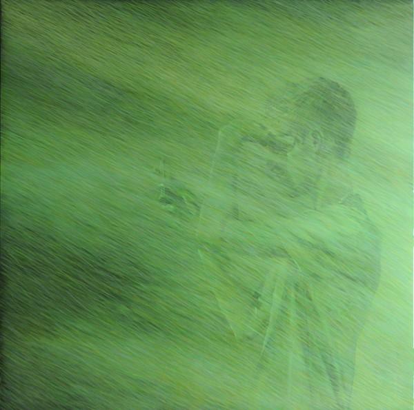S/T de la serie Testigo, 2011. Acrílico sobre lienzo, 130x130cm