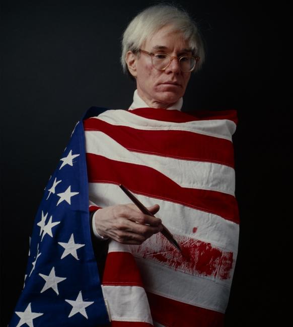 Andy Warhol, la bandera. 1983