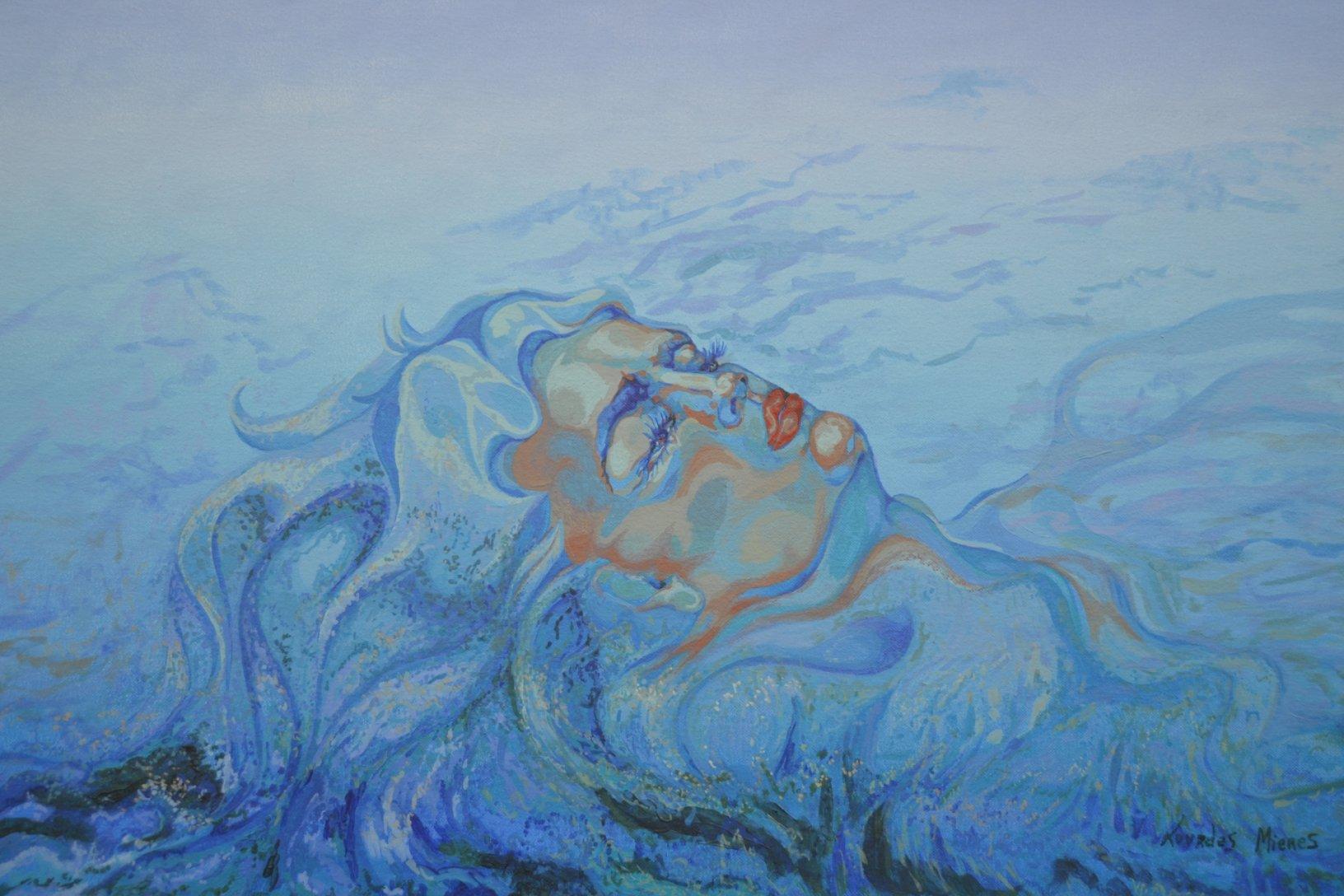 Soñando en azul (2015) - Lourdes Mieres Velilla