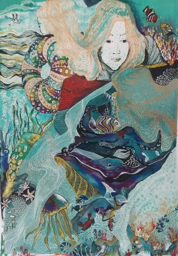 A menina do mar (2019) - Marta Bastos Silva