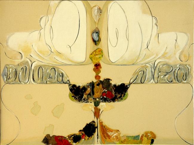 Intuición, Serie Sobre La Duda, Tríptico I, 2010, óleo/tela, 120x90cm