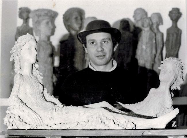 Ramón Muriedas y alguna de sus obras