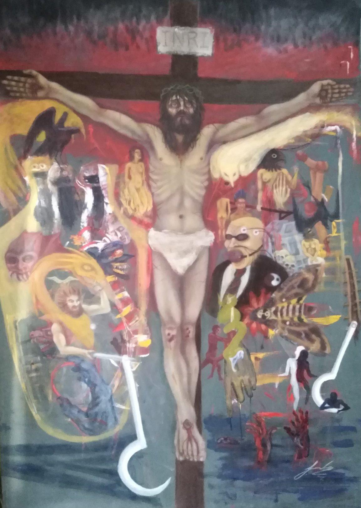 Delirio en la cruz