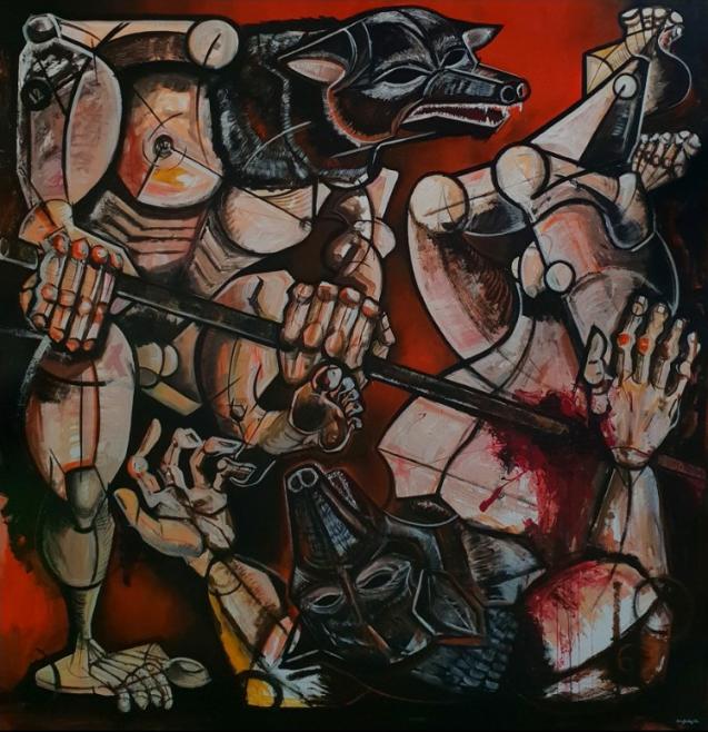 Rómulo y Remo (2018) - María Bodel