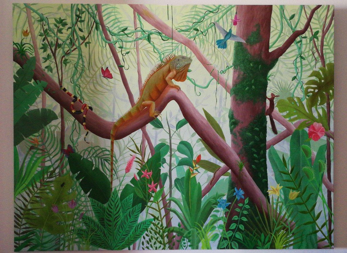 Selva libre (2020) - Rosa María Marfil Montañez - Rose Painter
