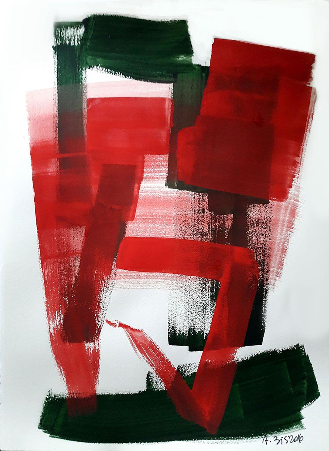 Sopra rosso (2016) - Alessandra Bisi