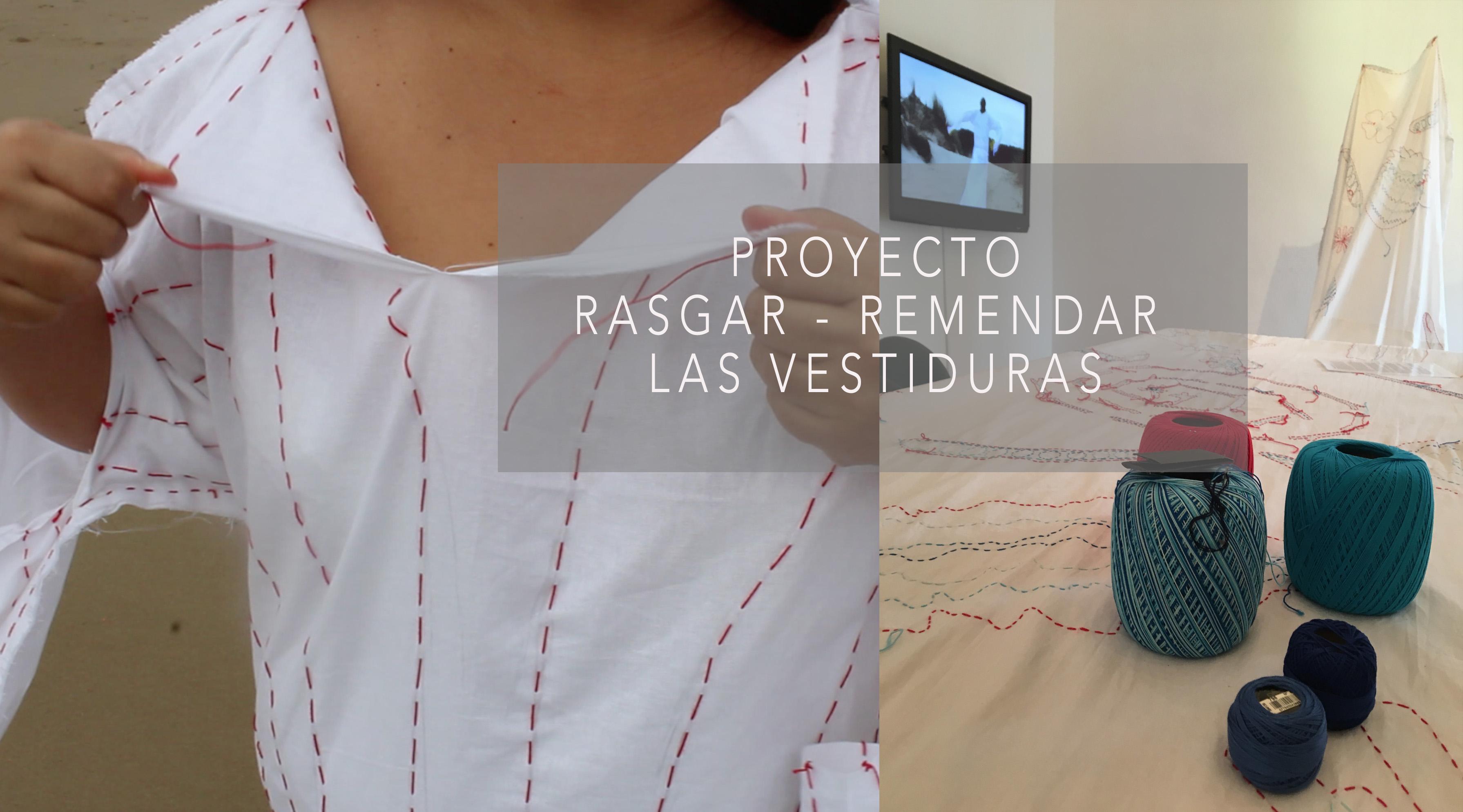 Rasgarse - Remendar las vestiduras (2018) - Diana Valarezo