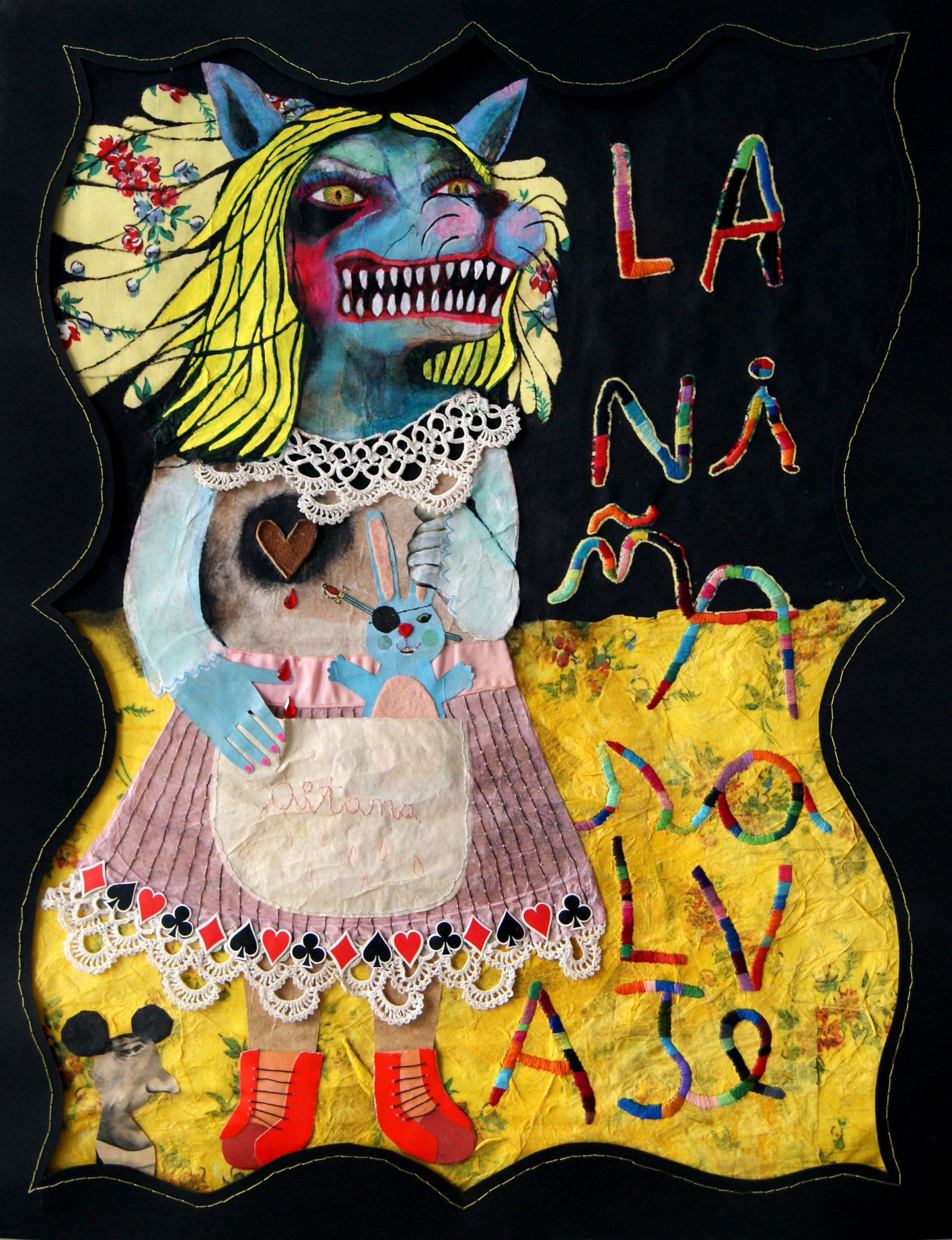 La niña salvaje (2013) - Aitana Bernabé - Piscaballito