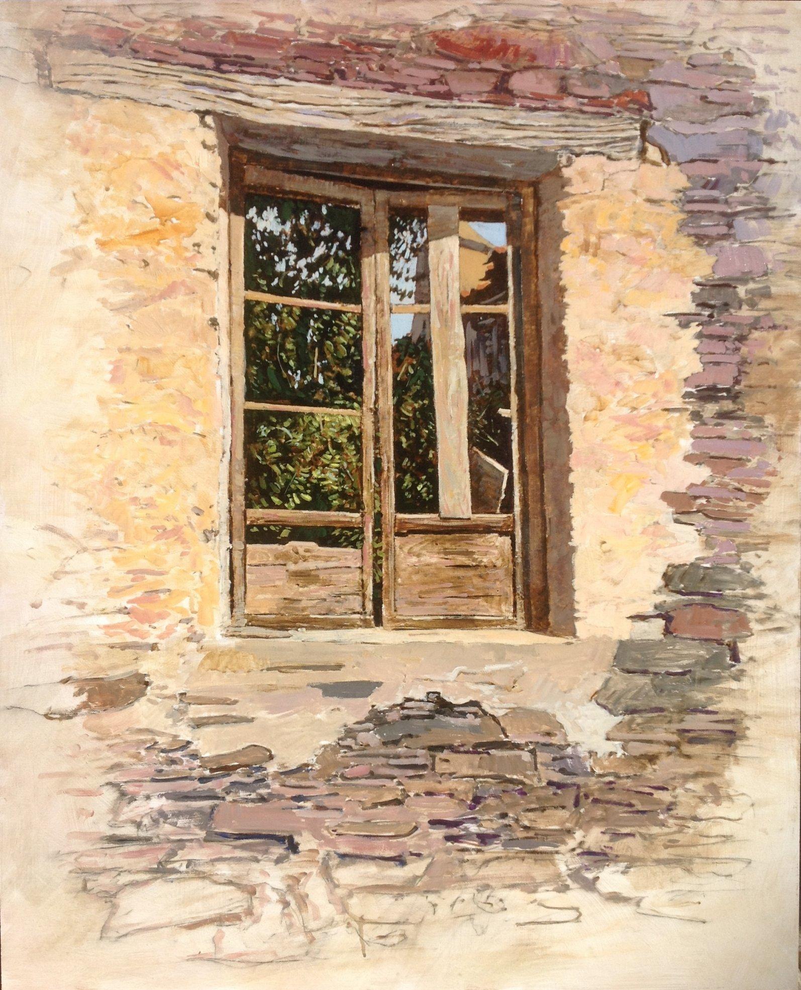 Antigua ventana (2016) - Francisco Tomás Medina Pérez