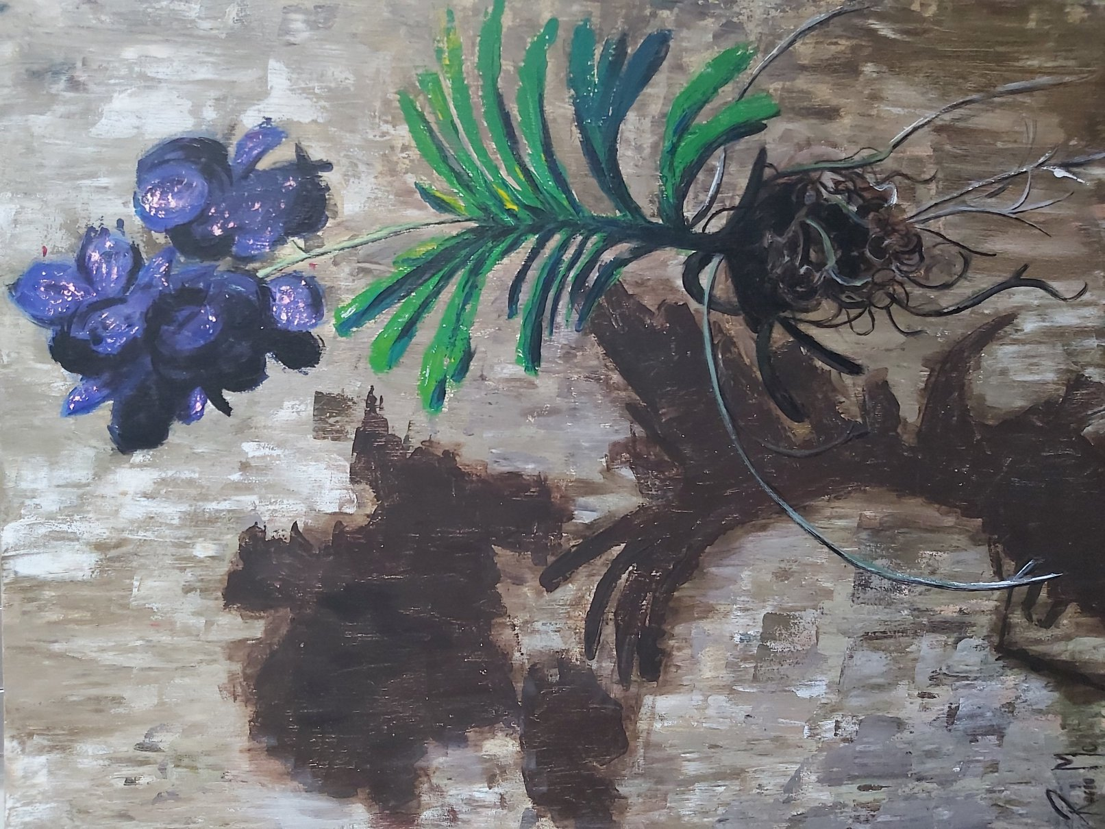 Suspensión en flor (2017) - Rocío Martínez Cañete - Rocío McNezmart
