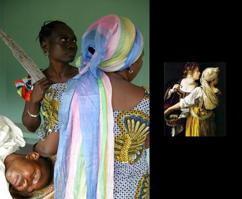 ARTEMISIAS  - Estudio sobre Judith y su doncella (2012) - May San Alberto