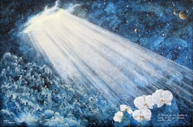 La luz que se cuela por las heridas, ilumunan nuestra alma.