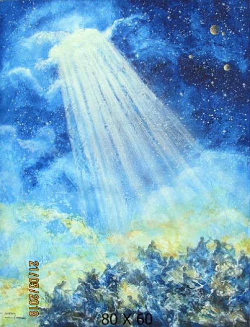La luz que se cuela por las heridas iluminan nuertra alma II
