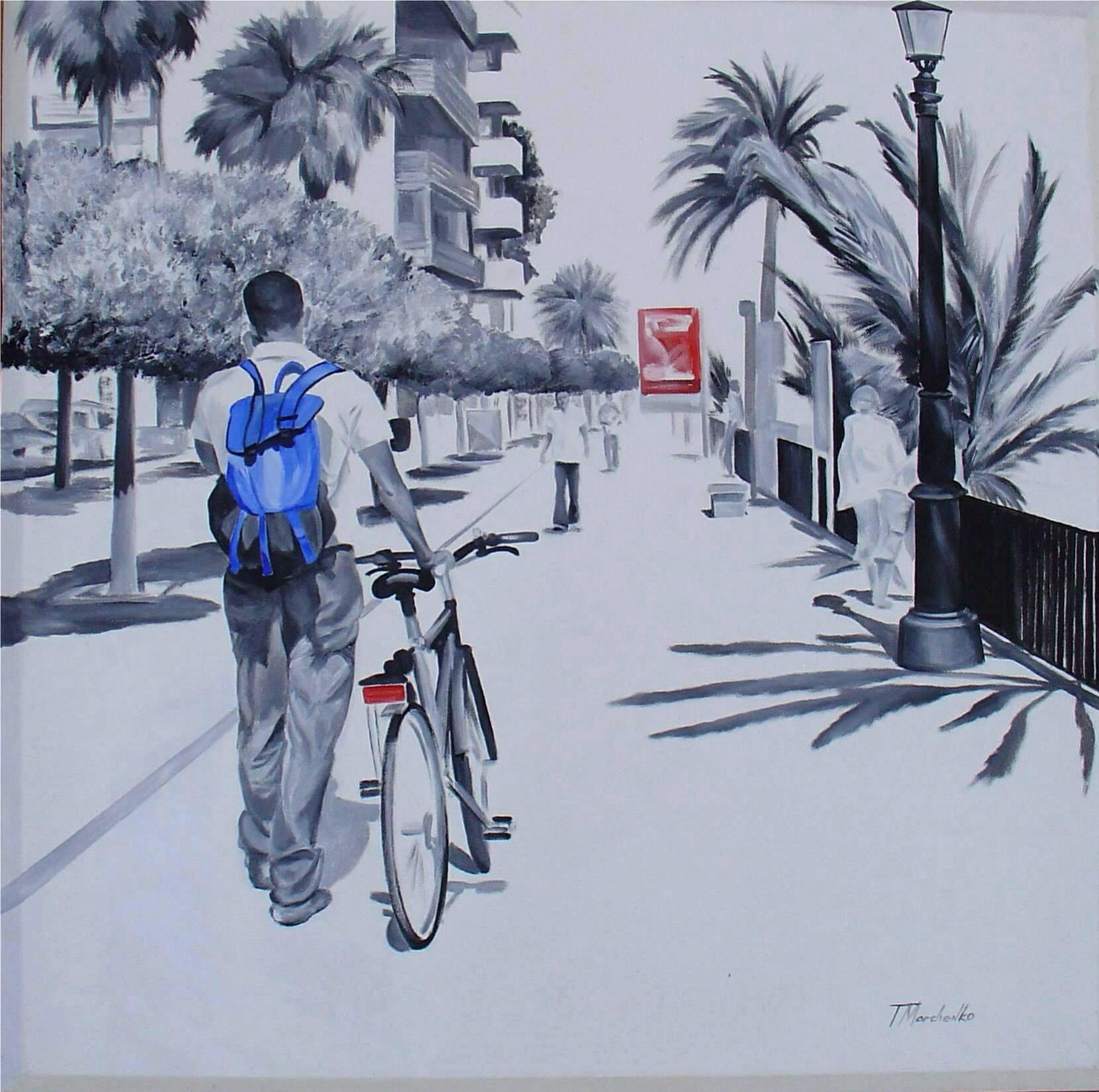 Marbella. Paseo marítimo. (2009) - Tatiana Marchenko