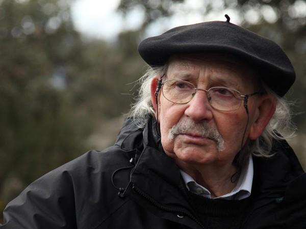 Retrato de Agustín Ibarrola. Foto de Julio Grande